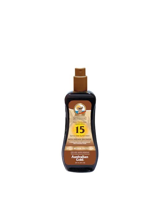 rinascente Australian Gold Spf 15 Spray Gel Bronzer Protezione Solare 237ml