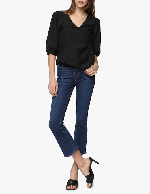 rinascente Paige Jeans crop a zampa Colette