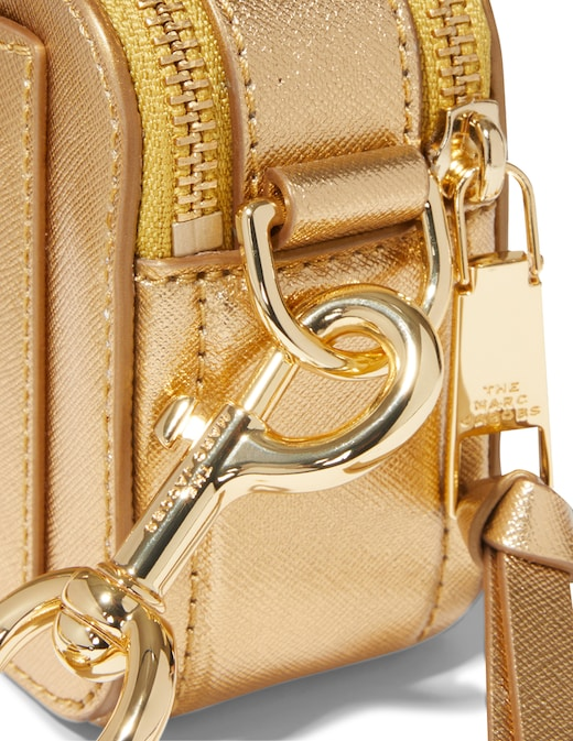 rinascente Marc Jacobs (The) Borsa a tracolla Snapshot DTM Metallic