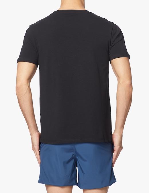 rinascente Moschino Tshirt logo oro in jersey stretch