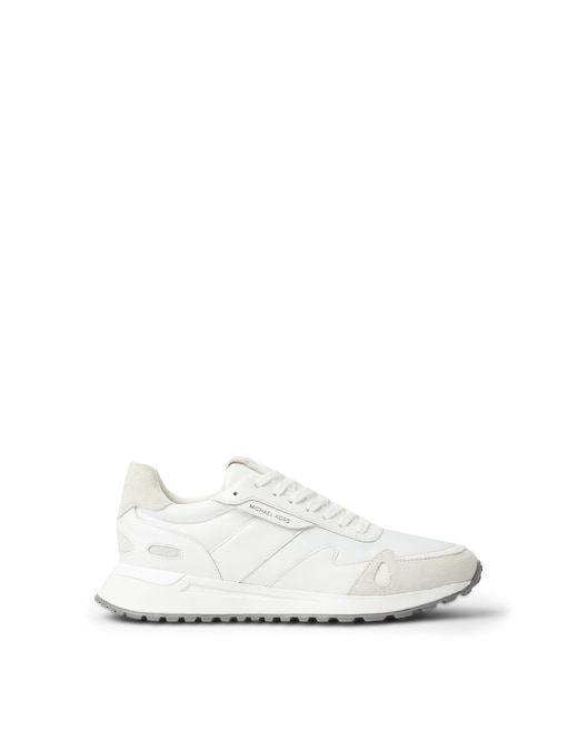 rinascente Michael Kors Leather and nylon sneakers