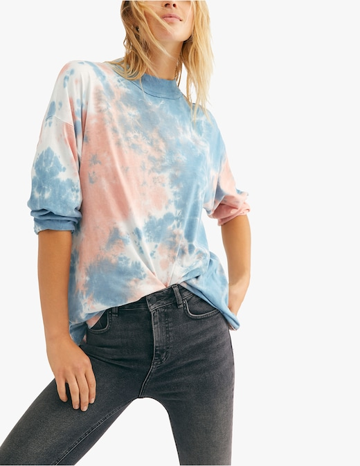 rinascente Free People Maglia a manica lunga tie dye Be Free