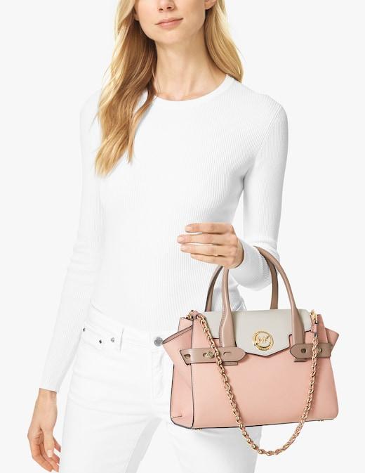 rinascente Michael Michael Kors Carmen Small Flap Satchel Bag