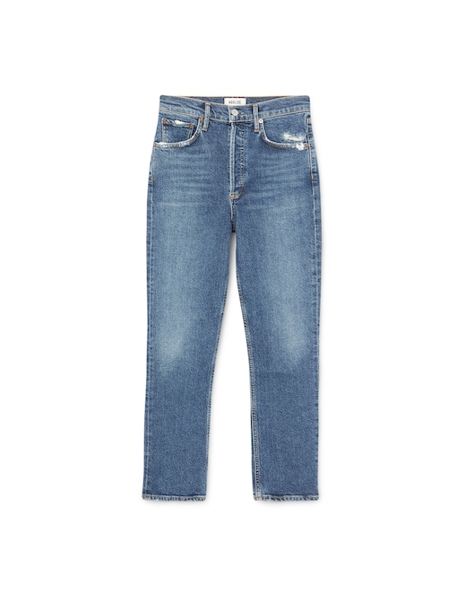 rinascente Agolde High rise straight leg jeans