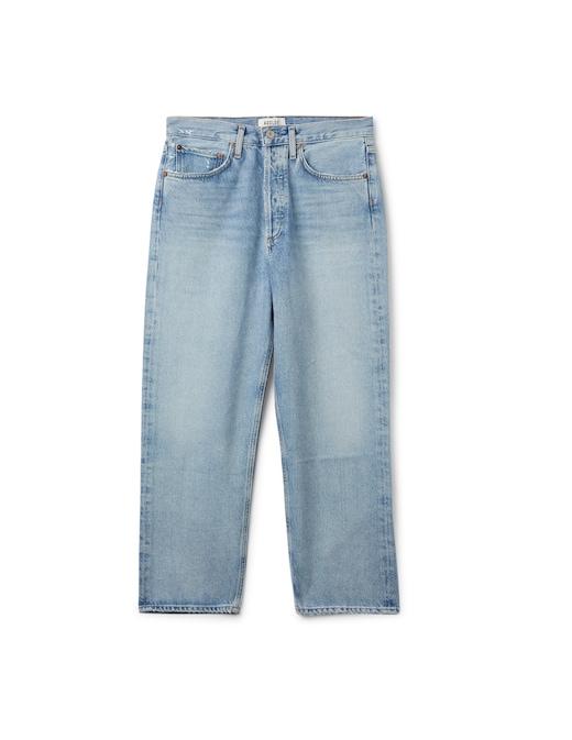 rinascente Agolde Mid rise straight leg jeans