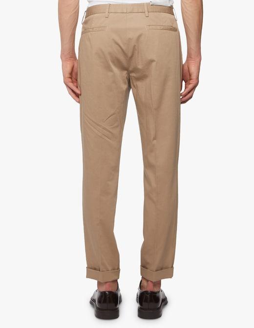rinascente Z Zegna Pantaloni chino con pence in cotone