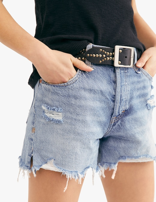 rinascente Free People Pantaloni corti di jeans Makai
