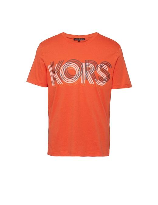 rinascente Michael Kors Optical logo print t-shirt
