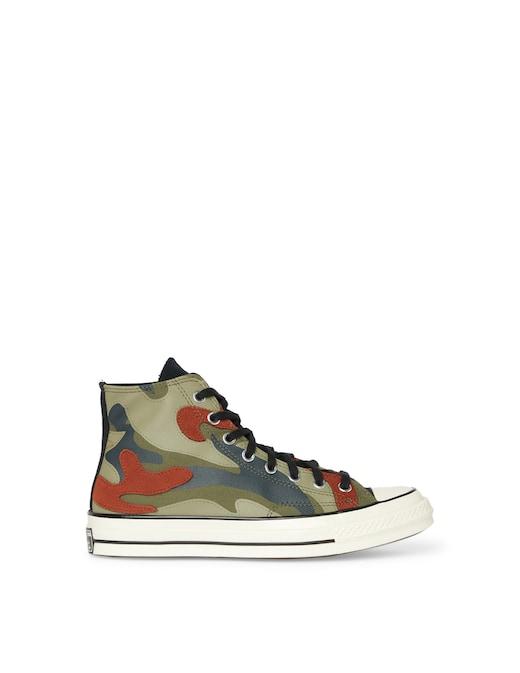 rinascente Converse Sneaker chuck 70 camo patchwork