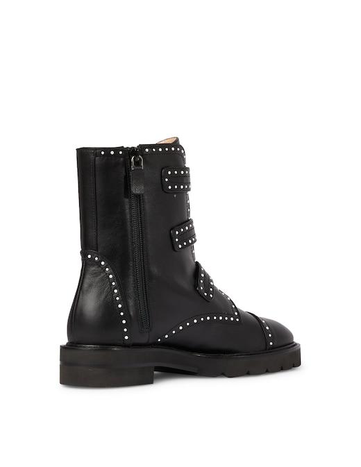 rinascente Stuart Weitzman Leather ankle boots Jesse Lift