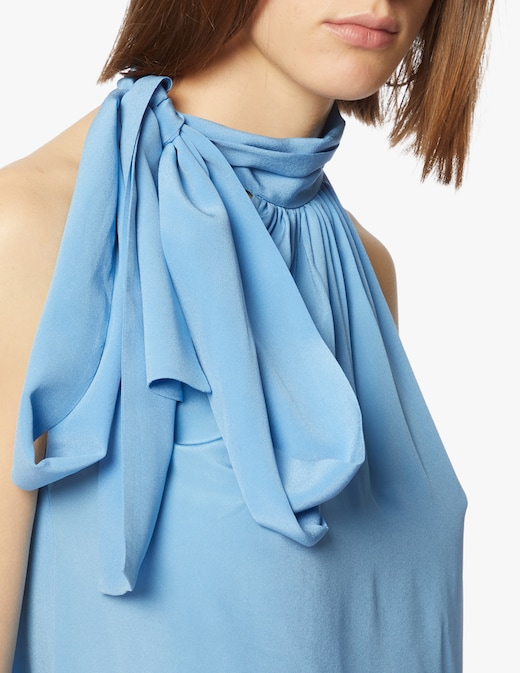 rinascente Michael Michael Kors Blusa in seta con fiocco