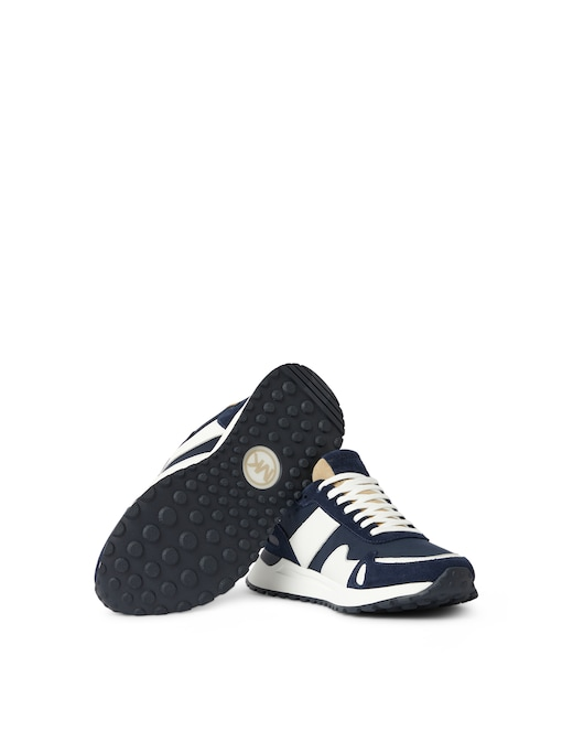 rinascente Michael Kors Suede, leather and canvas sneakers
