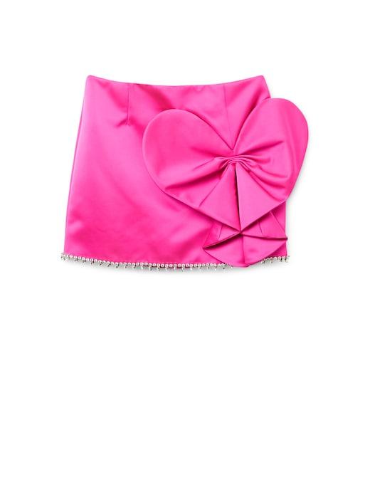 rinascente Area Mini skirt Heart Bow