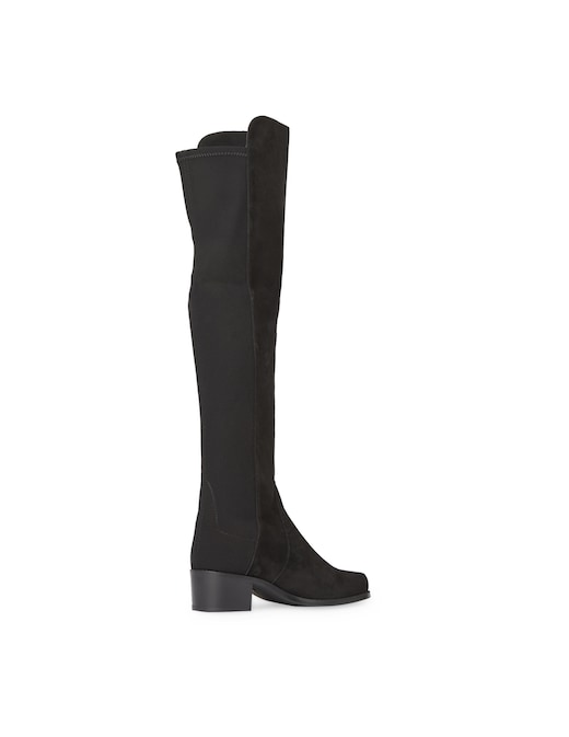 rinascente Stuart Weitzman Reserve over the knee goat leather boots
