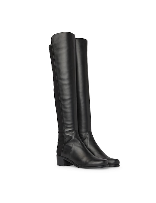 rinascente Stuart Weitzman Reserve over the knee leather boots