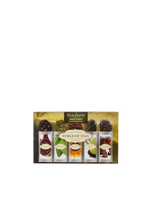 rinascente Tea Fortè Tè Dal Mondo Single Steeps World of Teas
