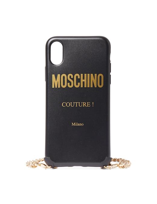 rinascente Moschino Cover per iPhone XS/S