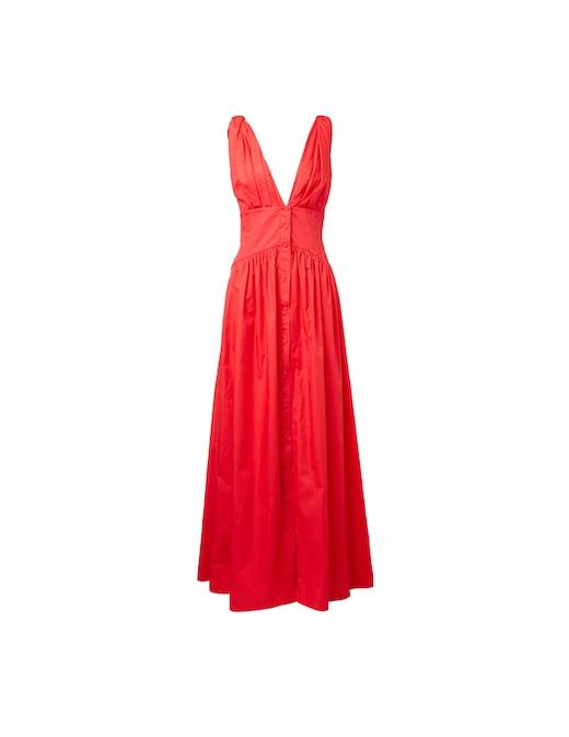 rinascente Philosophy di Lorenzo Serafini Button down sleeveless popeline maxi dress