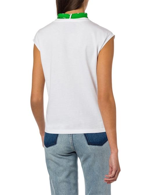 rinascente Philosophy di Lorenzo Serafini T-shirt in cotone con logo e bandana