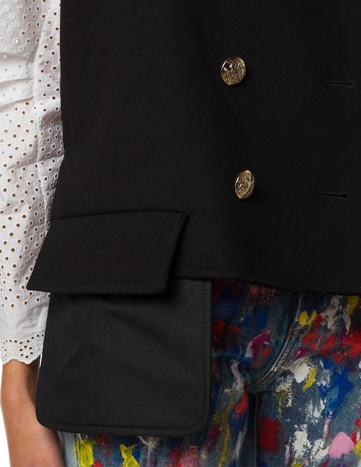 rinascente Philosophy di Lorenzo Serafini Double breasted sailor vest