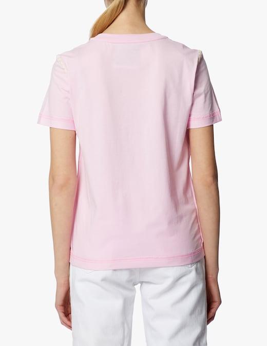 rinascente Moschino T-shirt con stampa in cotone