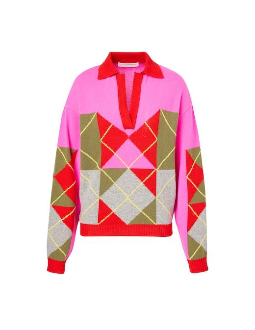 rinascente Philosophy di Lorenzo Serafini Wool blend polo shirt