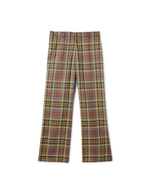 rinascente Philosophy di Lorenzo Serafini Pantaloni in lana a gamba dritta con stampa tartan