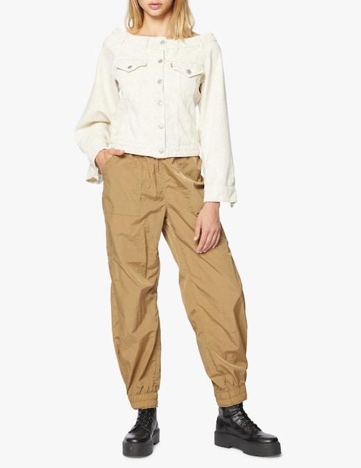 rinascente Ganni Giacca di jeans off-shoulder
