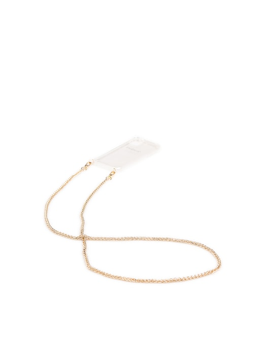 rinascente Phonie Jenny Gold 11 iPhone Pro Smartphone Necklace