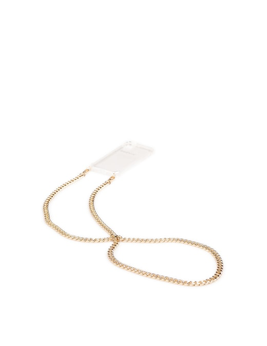 rinascente Phonie Chantalle Gold 11 iPhone Pro Smartphone Necklace