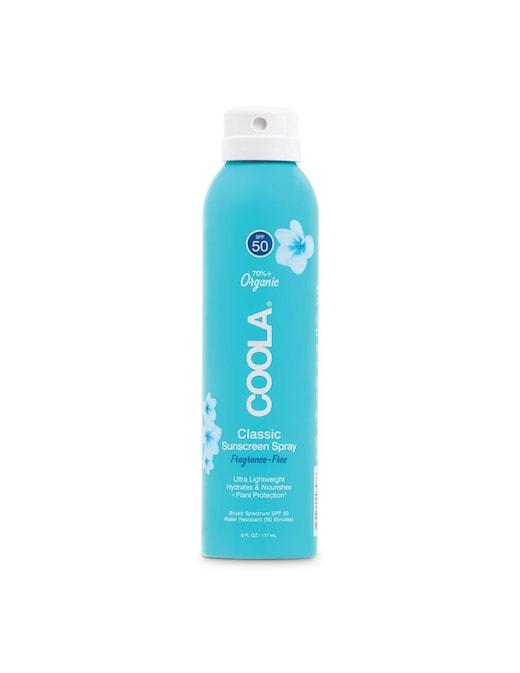 rinascente Coola Solare corpo organico in spray Classic Fragrance-Free SPF 50