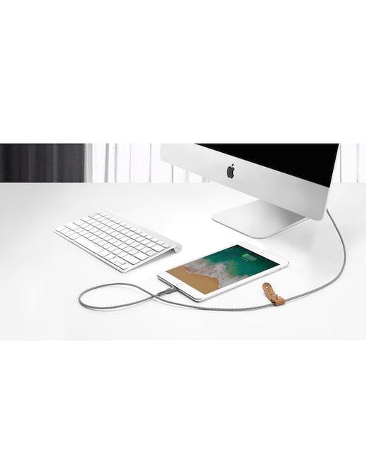rinascente Zendure USB to Lightning Cable 2m Grigio, cavo USB