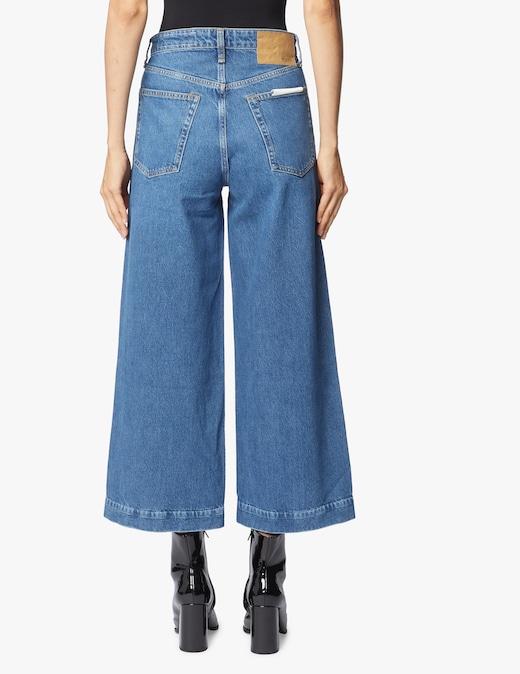 rinascente Rag & Bone High rise wide legs jeans Maya