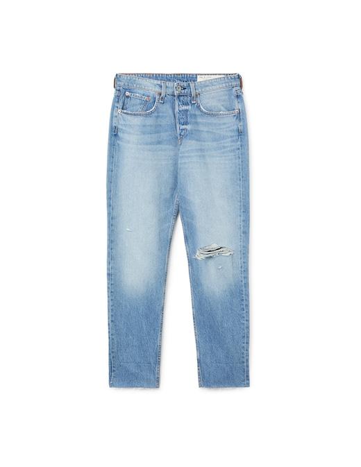 rinascente Rag & Bone Mid-rise boyfriend jeans Rosa