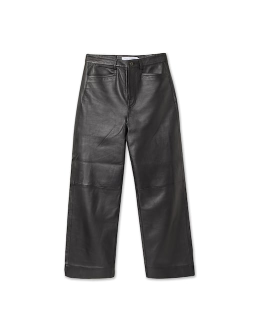 rinascente Proenza Schouler White Label Cropped leather trousers