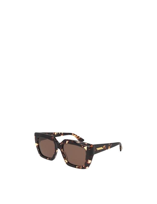 rinascente Bottega Veneta Feminine Squared Sunglasses BV1030S