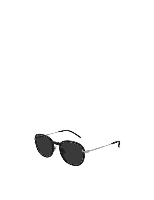 rinascente Saint Laurent Round Sunglasses SL 436