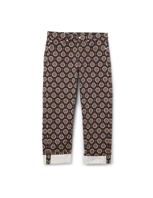 rinascente Dries Van Noten Pantero print jeans