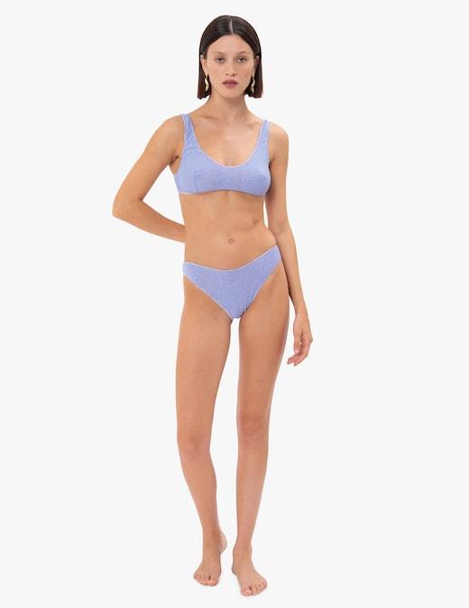rinascente Oséree Shine sporty glitter bikini set