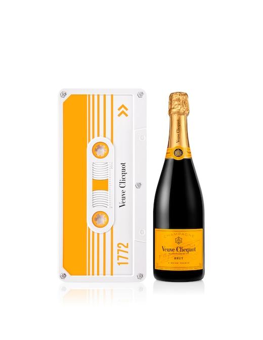 rinascente Veuve Clicquot Champagne Clicquot Tape Yellow Label - Limited Edition