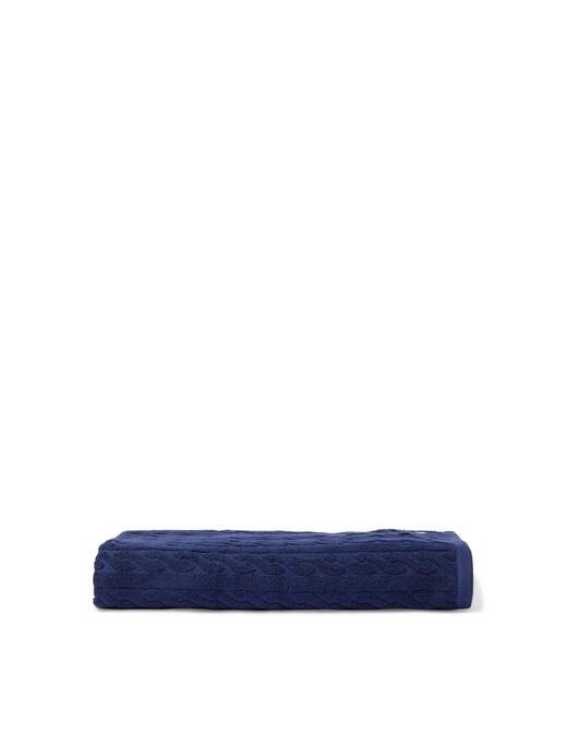 rinascente Ralph Lauren Cable shower towel 92x183