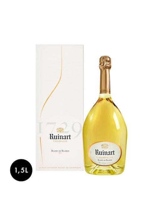 rinascente Ruinart Champagne Brut Blanc de Blancs Magnum Cofanetto