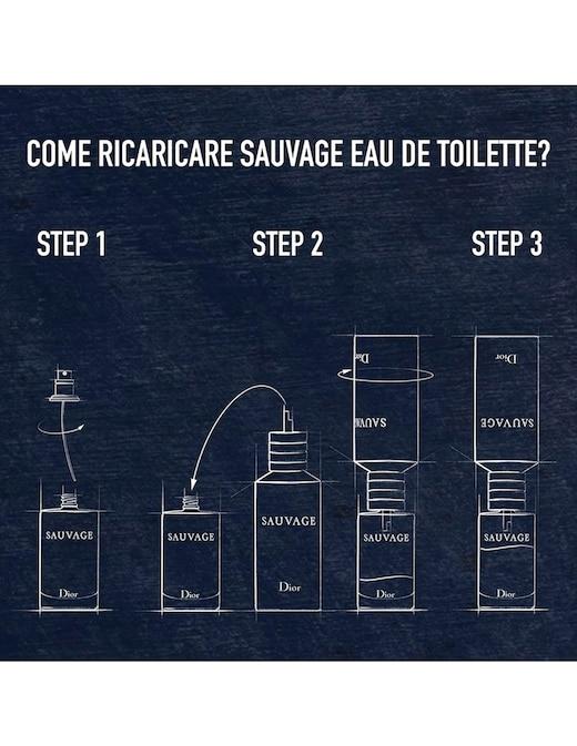 rinascente DIOR Sauvage Eau de Toilette ricaricabile 30 ml