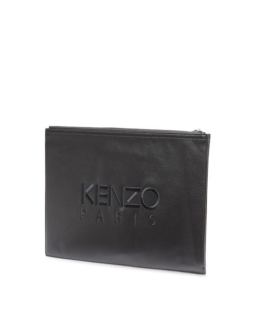 rinascente Kenzo Pouch in pelle con logo