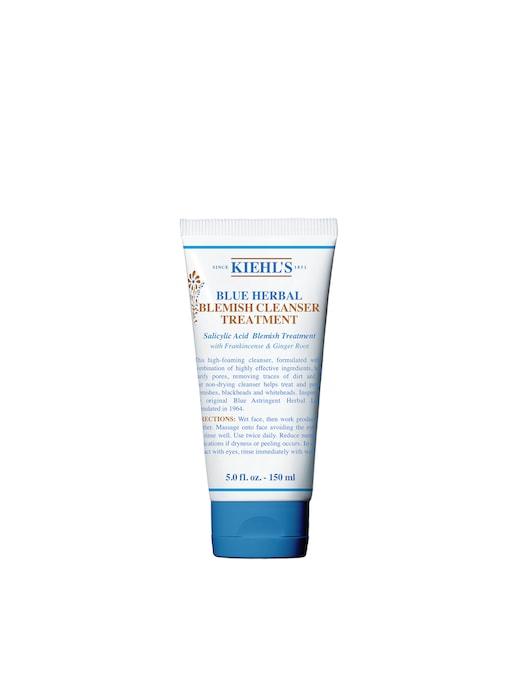 rinascente Kiehl's Blue Herbal Blemish Cleanser Treatment detergente viso