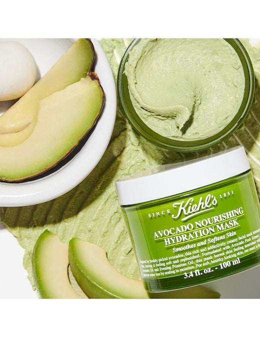 rinascente Kiehl's Avocado Nourishing Hydration Mask maschera viso