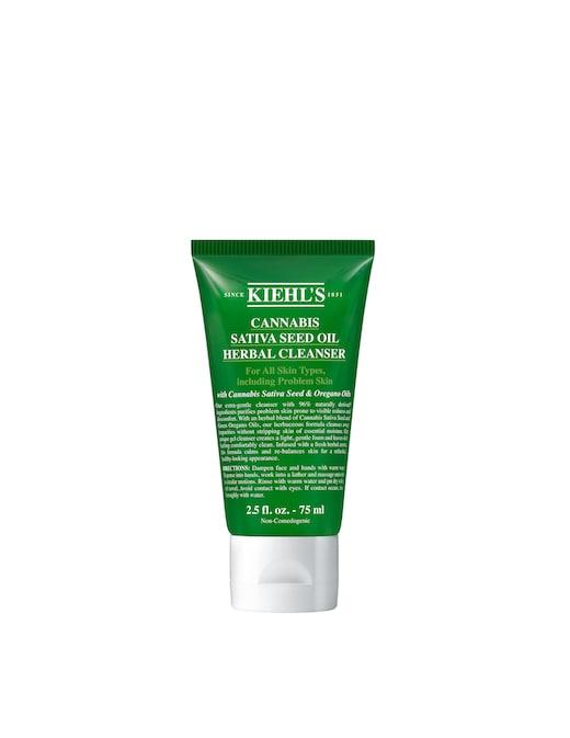 rinascente Kiehl's Cannabis Sativa Seed Oil Herbal Cleanser detergente viso