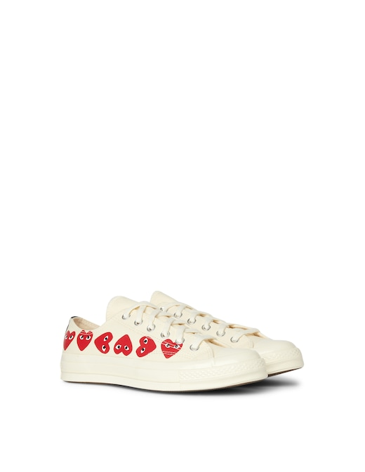 rinascente Comme des Garçons Play Converse Sneakers chuck taylor new