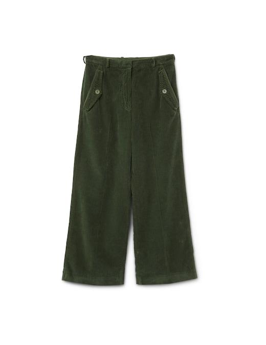 rinascente Kenzo Velvet palazzo trousers