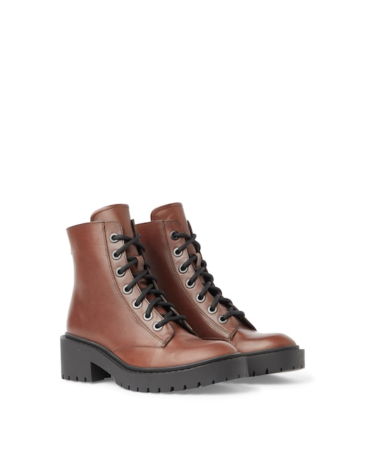 rinascente Kenzo Leather combat boots